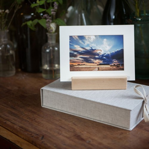 Print Box to beautifully display and hold prints